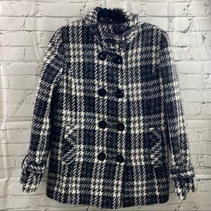 Melanie lyne houndstooth wool jacket
